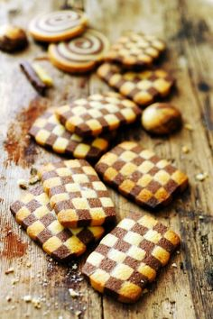 Checkered Cookies Tutorial and Recipe