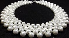 Beautiful and Elegant Pearl Necklace .... Class # 22 !!! - YouTube