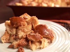 Cinnamon Roll Bread Pudding from FoodNetwork.com