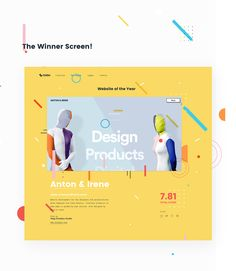 CSS Design Award called us to design the webpage for the Website of the Year! The concept:A tribute to the effort and work that everyone behind the nominated websites have made. Acknowledgement of the layers behind the websites: visuals, UI, structure…