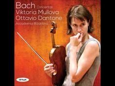 Viktoria Mullova & Ottavio    J  S  Bach Concertos