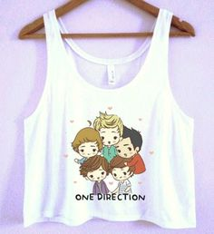 One Direction Crop-Top