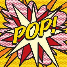 Comic Book POP! Art Print by The Image Zone