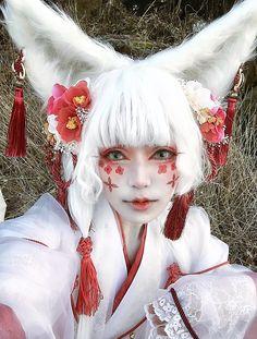 Fantasy Makeup, Fantasy Art, Vintage Beauty, Arte Fashion, Kawaii Makeup, Wow Art, Cosplay Makeup, Halloween Cosplay, Character Design Inspiration