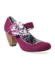 Ruby Shoe Plum court shoe
