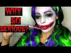 The Joker Girl Makeup Tutorial Saubhaya Makeup - Joker-makeup-tutorial