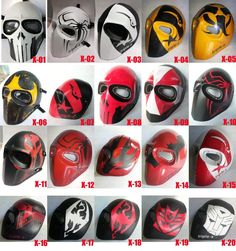 Airsoft Mask Army of Two Paintball BB Gun DJ Outdoor Protective Gear Cosplay