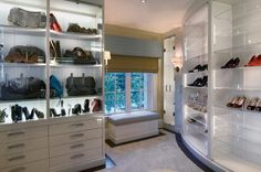 High-tech personalized designer closets costing millions are a rage!