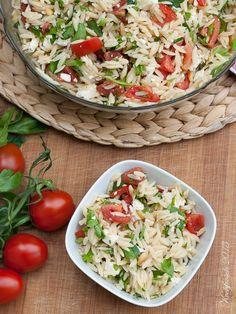 Kochfrosch: Falls der Sommer doch noch kommt: Orzosalat mit Feta und Tomaten