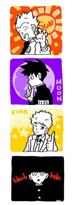 99.9%の塩(@lulu_kgym)さん / Twitter Manga, Mob Psycho 100 Anime, Mob Physco 100, Rat Man, Animes Wallpapers, One Punch Man, Artist At Work, Memes, The 100