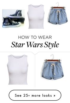 """""""Let's Go See Star Wars"""" by fashion-life21 on Polyvore featuring Converse"""