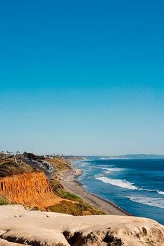 Carlsbad Beach California USA