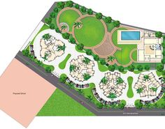 Image result for best master plan landscape layout plan
