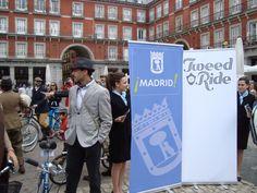 Punto de encuentro: Plaza Mayor, Madrid. #tweedridemadrid