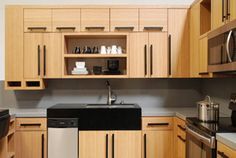 Domain Cabinets became the first and only company in the US to offer RTA bamboo cabinets for bathroom and kitchen with water based top coating, and we never looked back. Bamboo Cabinets, Green Cabinets, Cherry Cabinets, Wood Cabinets, Cabinets Direct, Ready To Assemble Cabinets, Rta Kitchen Cabinets, New Cabinet