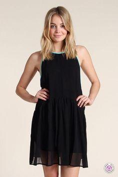 Clotheswap - ilabb black bandit dress Apple Body Type, Apple Body Shapes, Sandro, Total Black, Great Legs, Dresses For Sale, Dress Sale, Chic Dress, Spring Summer