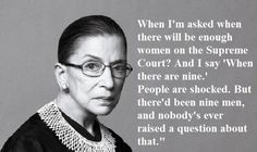 Love for the Notorious RBG.