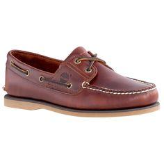 Timberland 男款經典深棕色帆船鞋  fab3d084ff8