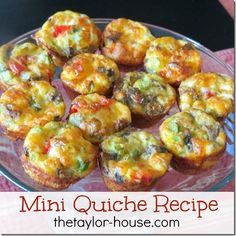 Mothers Day Brunch and Quiche Recipe