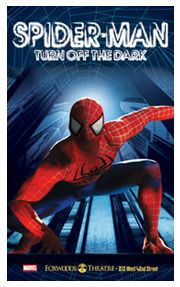 SPIDER-MAN Turn Off the Dark.  Broadway show. Who said Broadway shows are boring?
