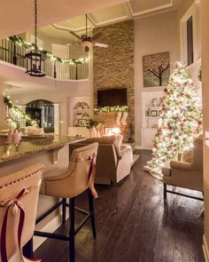 Christmas Decoration Inspiration for Living Room. Darling Christmas living room Christmas Decoration Inspiration for Living Room. Darling Christmas living room with rose ivory and neutral ornaments and decor. Source by theexchange Winter Living Room, Christmas Living Rooms, Christmas Home Decorating, Christmas Decorations For The Home Living Rooms, Autumn Decor Living Room, Cozy Living, Simple Living, Holiday Decor, Living Area