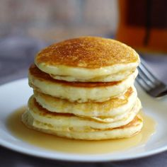 Gluten Free Pancakes. Light & fluffy.