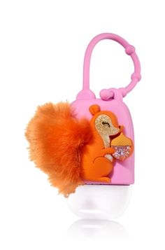 Squirrel - PocketBac Holder - Bath & Body Works - Make germs go squirrely! This convenient holder attaches to your backpack, purse & more so you can always keep your favorite PocketBac close at hand. Bath Body Works, Alcohol En Gel, Baby Doll Nursery, Hand Sanitizer Holder, Bath And Bodyworks, Best Bath, Perfume, Smell Good, Room Paint