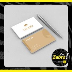 Cartão de visitas da ClinLife! Deu Zebra. ;) #DeuZebra #publicidade #propaganda #agência #Zebra #aideuzebra #agênciapp #comunicação #job #pp #empresa #empreendedorismo #empreendedor #mkt #style #design #off