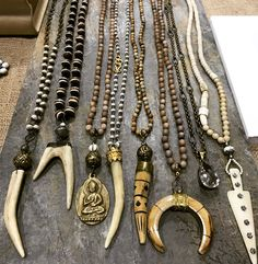 Handmade, boho necklaces. Lisajilljewelry@gmail.com