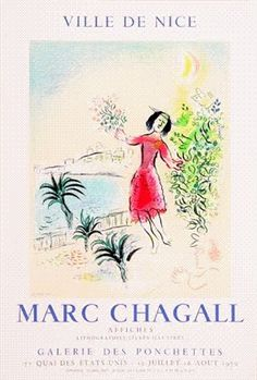Vintage European Posters - Chagall