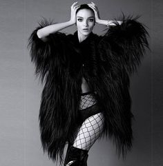 Womens Faux Fur Coats Overcoat Jacket Parka Luxury Hip Length Korean Furry Q7457