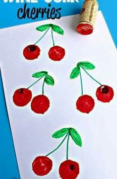 are some fun wine cork crafts for kids to make! They are easy and cheap art projects to do!Here are some fun wine cork crafts for kids to make! They are easy and cheap art projects to do! Kids Crafts, Daycare Crafts, Crafts For Kids To Make, Toddler Crafts, Projects For Kids, Art For Kids, Arts And Crafts, Easy Crafts, Creative Crafts