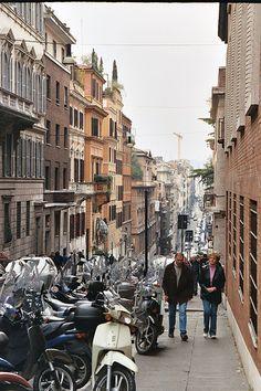 Via delle Quattro Fontane, Rome