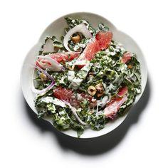 Raw Kale, Grapefruit, and Toasted Hazelnut Salad Recipe | http://www.health.com/health/gallery/0,,20640804,00.html
