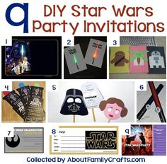 9 DIY Star Wars Party Invitations
