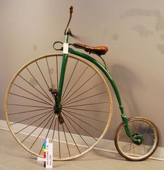 1875 direct-drive high-wheel #bicycle #bicyclette
