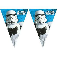 Star Wars Classic Storm Trooper Pennant Banner