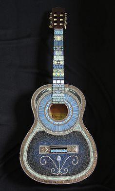 Wiggy Stardust Mosaic Guitar | mosaic guitar, mosaic art, ww… | Flickr