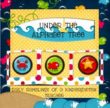 Under The Alphabet Tree... daily ramblings of a Kindergarten teacher
