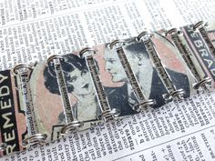 Upcycled bracelet made from a vintage 1920s by PerfectTin on Etsy, $75.00