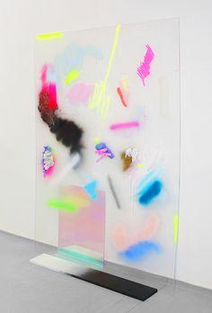Translucent Graffiti Imagery Computer Gaze by Jennifer Mehigan - So Funny Epic Fails Pictures Modern Art, Contemporary Art, Instalation Art, Robert Rauschenberg, Art Design, Art Plastique, Sculpture Art, Metal Sculptures, Abstract Sculpture