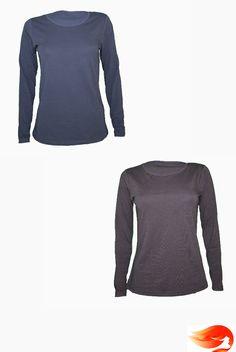 Camisetas básicas. Color azul y marrón. #basics #básicos #camiseta #t-shirt.