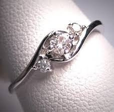 Image result for beautiful engagement small diamond