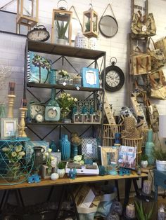 Aqua Shop Display Full Of Home Decor Lilydale Melbourne Victoria. Visual  Merchandising. VM.