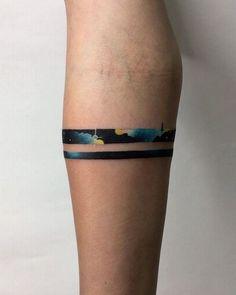 Bracelet Bras, Bracelet Tattoo For Man, Tattoo Band, Cuff Tattoo, Piercing Tattoo, Piercings, Band Tattoo Designs, Bracelet Tattoos, Armband Tattoos