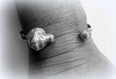 Silver Lion Bracelet by Minicsiga on Etsy
