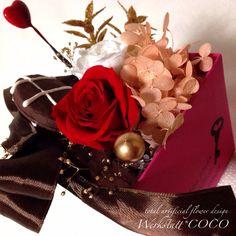 christmas arrangement 2014*chocolate