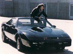 The original Knight Rider TV series ran from 1982 – 1986, featuring David Hasslehoff as Michael Knight, and K.I.T.T. a Pontiac Trans-Am with artificial intelligence that was capable of talking.