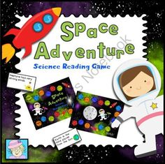 Science Reading Game:  Space Adventure! - 3 people will win this space-themed reading game.  It's a fun way to integrate science and reading!  .  A GIVEAWAY promotion for Science Reading Game:  Space from TeacherTam on TeachersNotebook.com (ends on 8-2-2014)