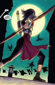 The daughter of Shado and half-sister of Green Arrow, and the new Red Arrow. Up Arrow, Team Arrow, Hq Marvel, Marvel Dc Comics, Comic Book Girl, Comic Books, Dragon Ball Z, Black Canary, Green Arrow